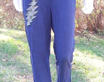 13 Point Bolt Size xsmall Blue Pants