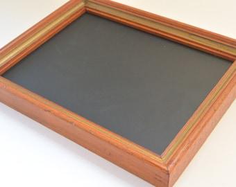 Framed Chalkboard, Repurposed Frame, Blackboard, Chalk Board, Original, Home Decor, Office Decor, Wedding Props, Photo Prop, Gift, Kids Room