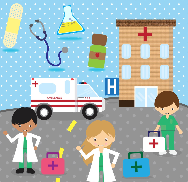 Doctor Clip Art Hospital Clipart Medical Clipart