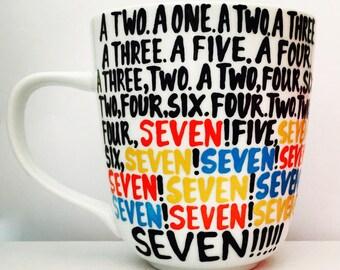 F•R•I•E•N•D•S -Seven- SEVEN- MUG- friends- friends tv show- Gifts for Friends Fans- Friends Gift - Friends fan mug