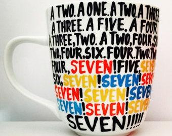 F•R•I•E•N•D•S -Seven- SEVEN- MUG- friends- Friends- Gifts for Friends Fans- Friends Gift - Friends fan mug- gifts for friends bestie