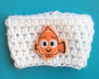 Nemo Coffee Cozy, Nemo Cozy, Nemo Mug Cozy, Coffee Cozy, Fish Cozy, Finding Nemo Coffee Cozy, Finding Nemo Cozy