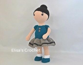 Amigurumi crochet doll Emma