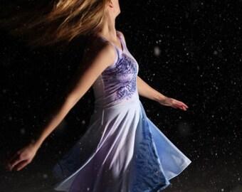 """Skater Dress: """"Flower Painting"""""""