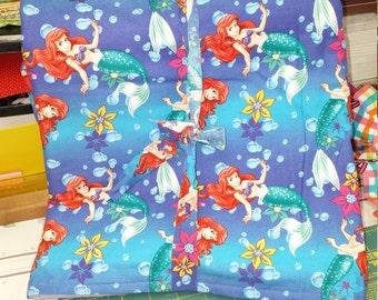 Little Mermaid Infant/Toddler WARM Blanket