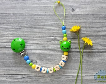 Soothie Pacifier Clip, Personalised Dummy Clips, Binky Holder