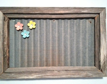 Magnet Board from Reclaimed Material