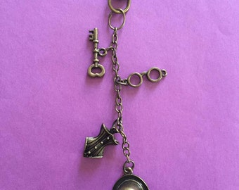 Victorian Themed Key chain