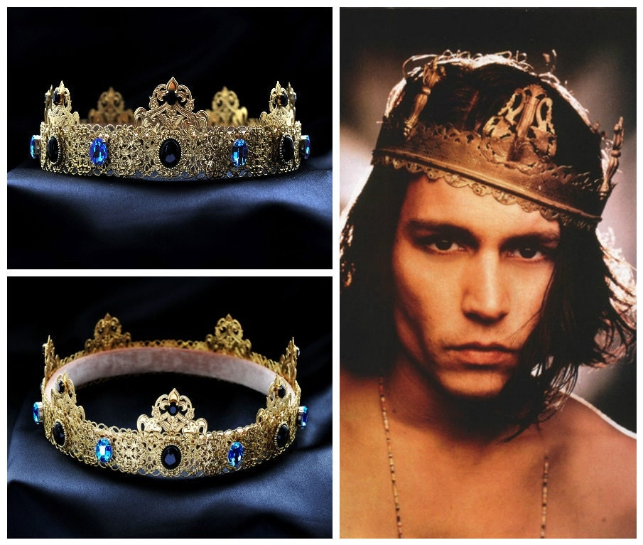 Gold Dolce Male Crown For Royal King Pageant by ...