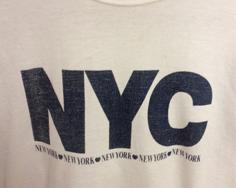 NYC New York City Vintage T-shirt