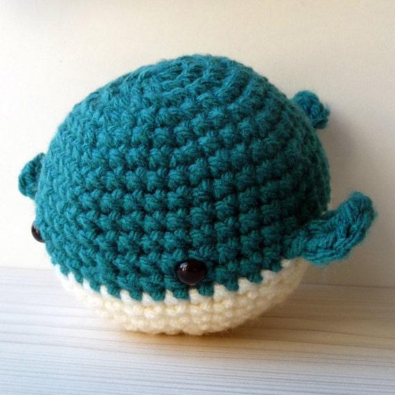 Crochet Amigurumi Blue Whale : Blue crochet whale mascot amigurumi whale by mrsHOOKcrafts ...