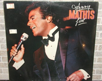 New! 1984 Johnny Mathis LIVE Sealed LP Record Album Never Opened!