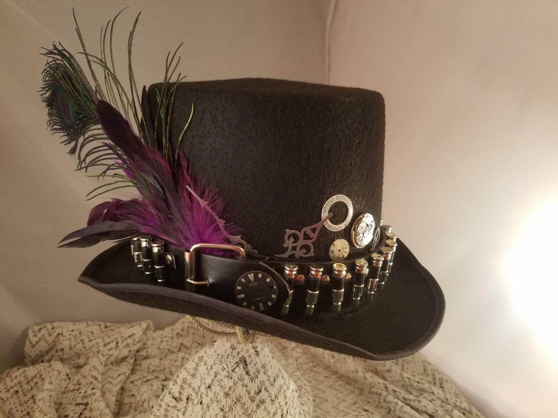 STEAMPUNK Top HatsSteamunk Shop Steampunk Outfits Black Top  STEAMPUNK Top H...