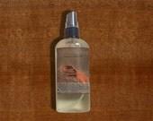 Sandalwood Organic Body Oil - Bourbon Vanilla, Woods, and Amber - Hair Oil - 99% Natural Body Oil - Vegan Body Oil - Hemp Seed Oil