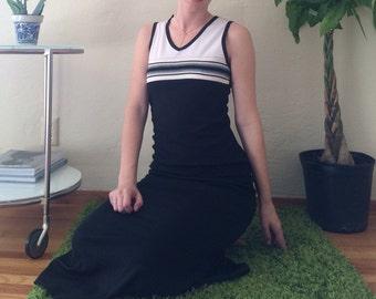 90s Sporty Maxi Dress