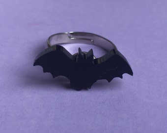 Black Bat Ring