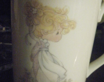 PRECIOUS MOMENTS GRANDMA Mug..  Wisdom, grace and Patience Laced with love Enesco ..very good condition..