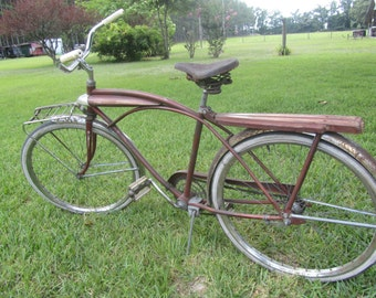 Parkleigh Bicycle, bike, Vintage Bicycle, Parkleigh Deluxe Men's Bike, Bicycle with Light