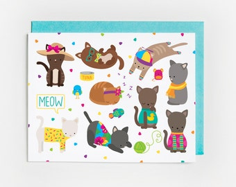 Just Because Card, Kitty Stuff