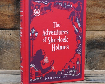 Hollow Book Safe - The Adventures of Sherlock Holmes - Leather Bound