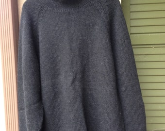 Mens 1/2 turtle neck pull over