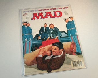 MAD Magazine - No. 255 June 1985 - The Cosby Show & All Of Me