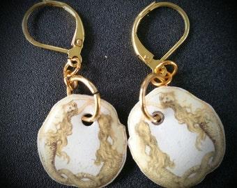 Golden Mermaids Earrings