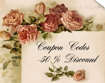 COUPONS codes for discounts are shown here