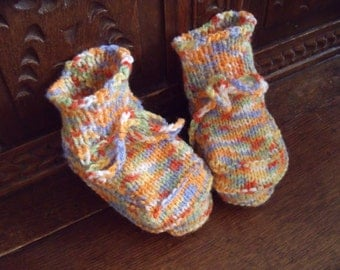 Toddler booties (sole 12 cm length)