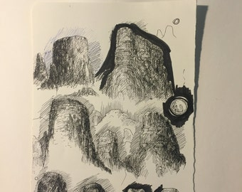 Rock Sketch #4