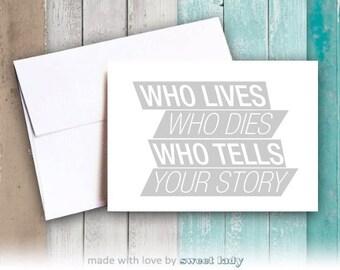 Hamilton - Who Tells Your Story