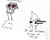 Regular Show- This is my Jam Stickers
