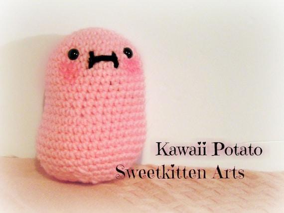 Crochet Kawaii Potato Amigurumi Plushie by SweetkittenArts ...