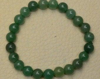 Green Aventurine Stretch Bracelet