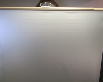 "vintage DA-Lite   MOVIE SCREEN  Portable Tri pod , Projection Screen ** 38"" wide x 40""high screen"