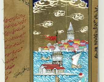 Maiden's Tower and Galata Tower