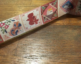 Taiwan Washi Masking Tape - Tiles
