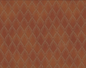Gold Royal Diamonds, 100% Cotton Fabric Sold by Half Yard (220974)