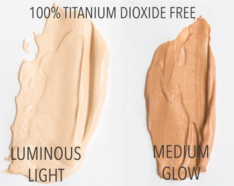 Organic, Vegan Mineral BB Cream, Airbrush Miracle liquid foundation, Titanium Dioxide Free SAMPLE ONLY