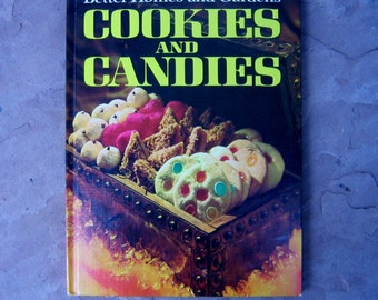 Cookies and Candies Cookbook, Better Homes and Gardens Cookies and Candy, 1971 Vintage Cookbook