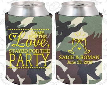 Came for the Love, Stayed for the Party, Personalized Wedding, Love Wedding Favors, Romantic Wedding Favors, Romantic Favors (404)