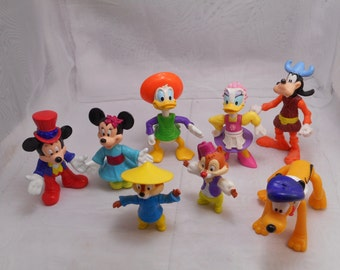1994 McDonald's Happy Meal Mickey & Friends Toys