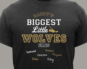 Personalized Biggest Little Sports FanT-Shirt