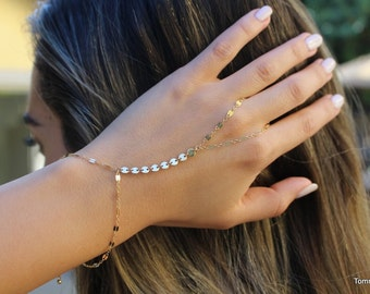free peoplet Gold Bracelet | Chain Hand Bracelet | Slave Bracelet | hand chain |  Finger Bracelet | hand bracelet | hand jewelry |