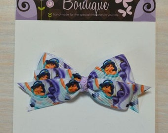 Boutique Style Hair Bow - Disney Princess, Jasmine