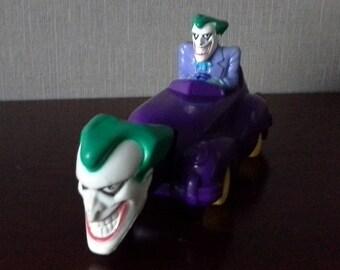 Joker in the joker car mcdonalds happy meal