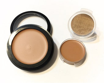 COCOA BEACH Perfecting Cream Foundation - Creamy Foundation Concealer Makeup - Vegan Gluten Free