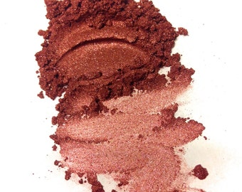 CHERRY WINE Mineral Eye Shadow - Natural Makeup - Gluten Free Vegan Face Color