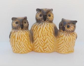 Ceramic Owl Etsy