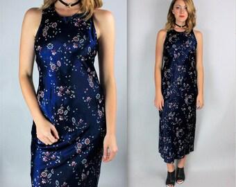 Vintage 90's floral GRUNGE maxi dress